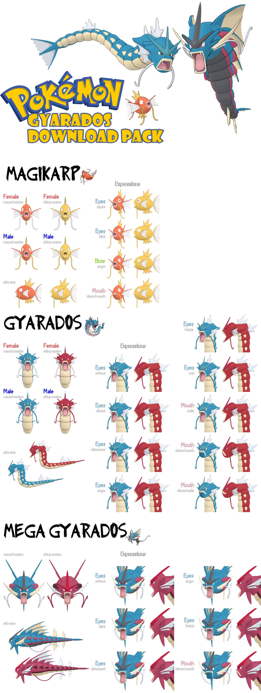 DOWNLOAD: XY Gyarados Pack