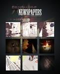 Textures - Newspapers