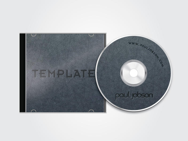 Vector cd and cd case template by pauljobson on deviantart for Cd case artwork template