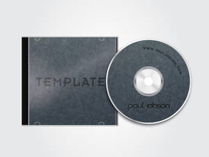 Vector CD and CD Case Template