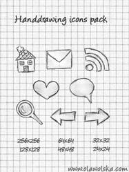 Handdrawing icons pack by Tutsii