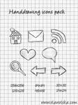 Handdrawing icons pack