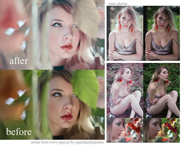 Photoshop Action Innocence by AngelikaZbojenska