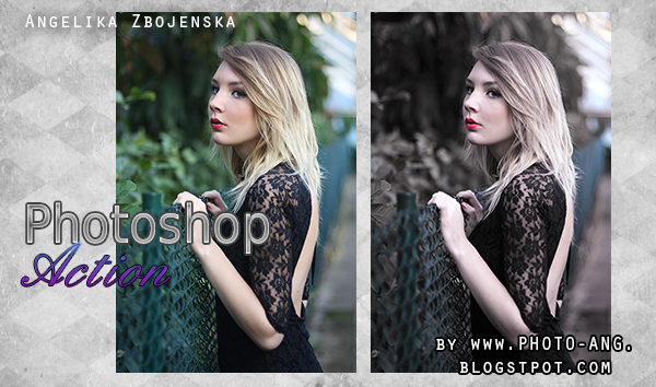 Photoshop Action by AngelikaZbojenska