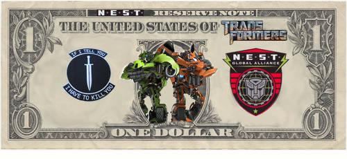 NEST Money 1 dollar by Baconette