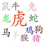 Chinese Zodiac Brushes-Words