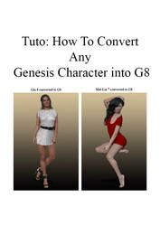 How To Convert Any Genesis Characters Into G8