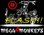 Mega4Monkeys_Flash_logo