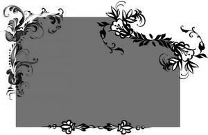 Floral GIMP brush by sleepybluekitty