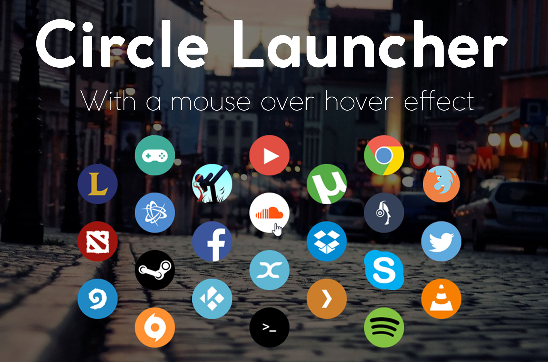 Circle Launcher 2 11 - 03-Aug-2016 by Lybrica on DeviantArt