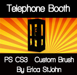 Telephone Booth PS CS3 Brush by estjohn
