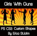 Girls With Guns PS CS3 Shape