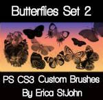 Butterflies Set 2 PS Brushes