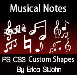 Music Symbols PSCS3 Shapes