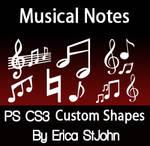 Music Symbols PSCS3 Shapes