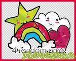 4 random PNGS