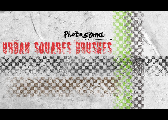 Urban Squares brushes by photosoma