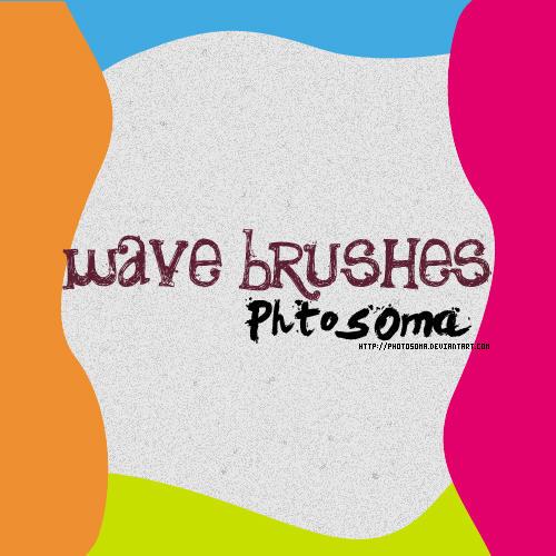 wave brushes by photosoma