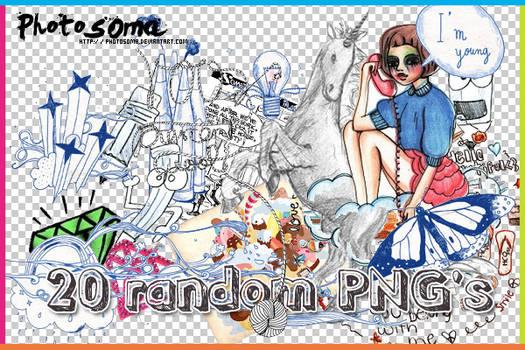 20 Random PNG's