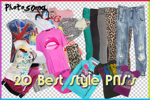 20 best style PNG's by photosoma