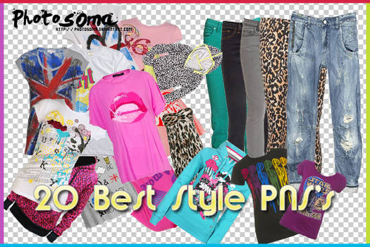20 best style PNG's