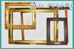 5 old frames PNG's by photosoma