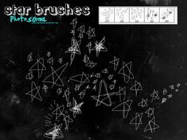 Star brushes by photosoma