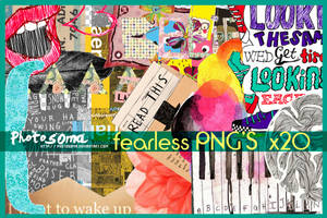 Fearless PNG's by photosoma