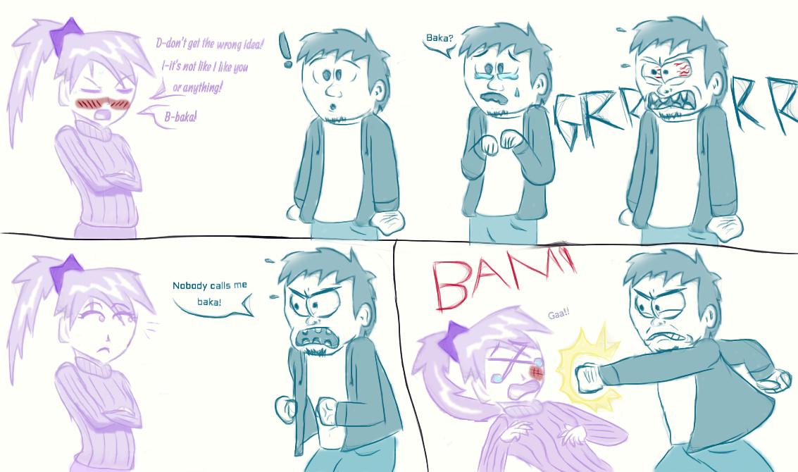 Nobody puts Baka in a corner! by Drac017