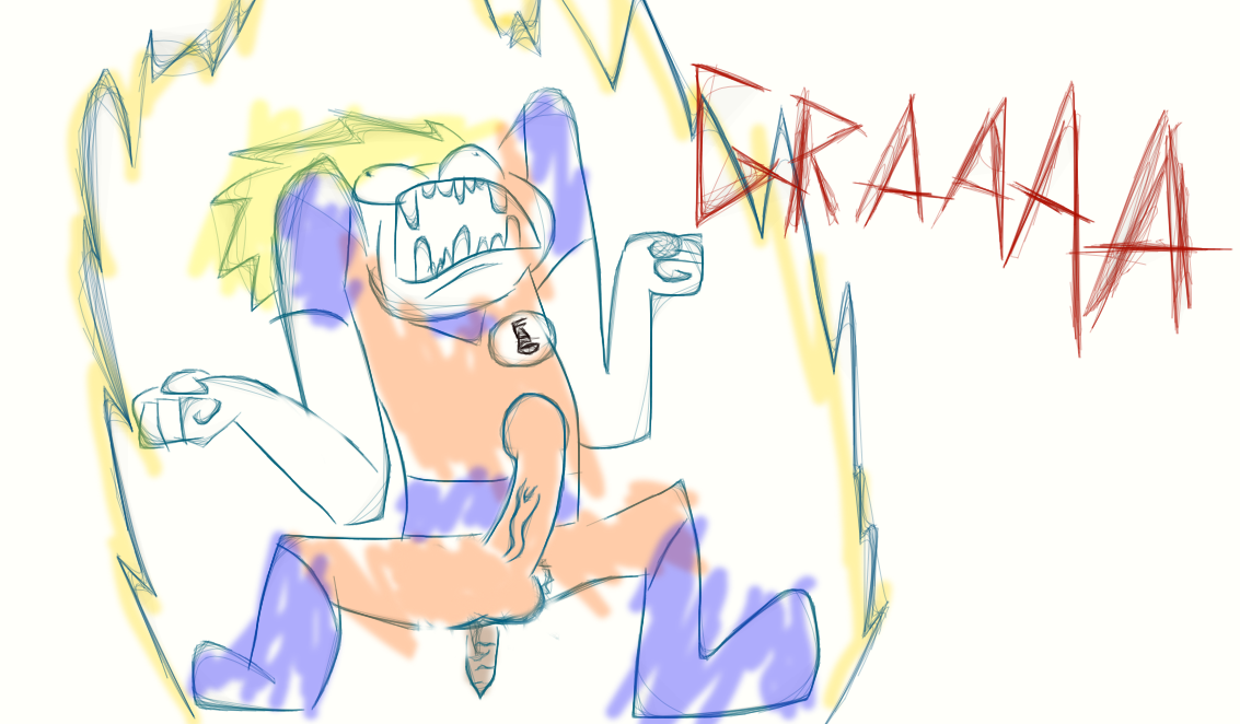 Your typical Dragonball Z episode by Drac017