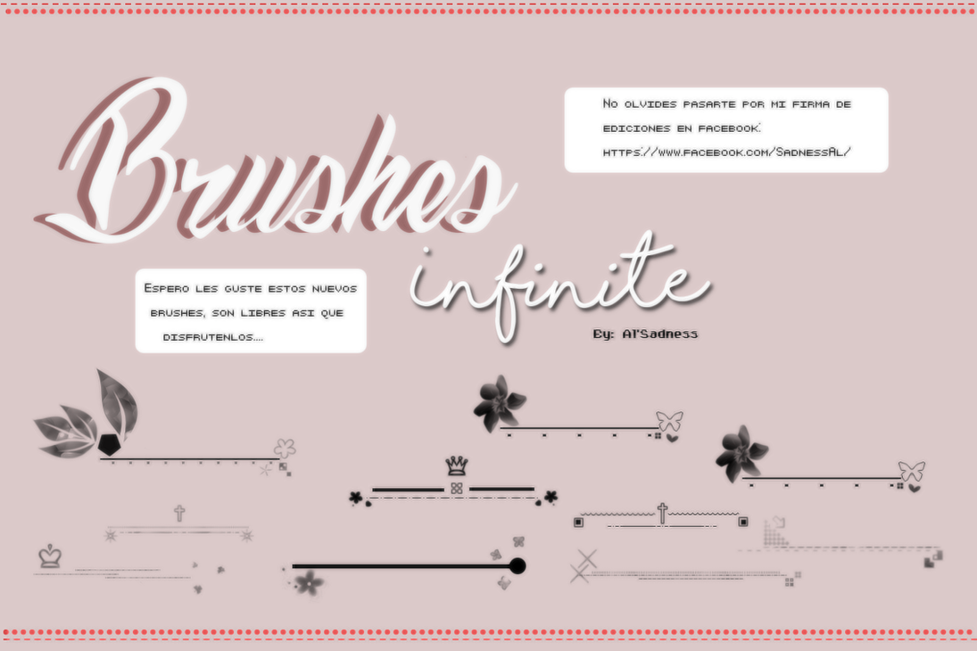Brushes Infinite ByAlSadness by BySadnessAl