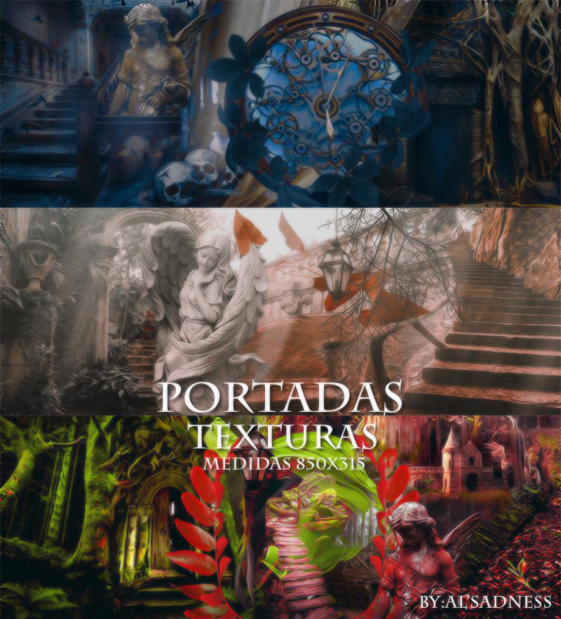 Portadas texturas by BySadnessAl