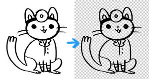 photoshop action for lineart