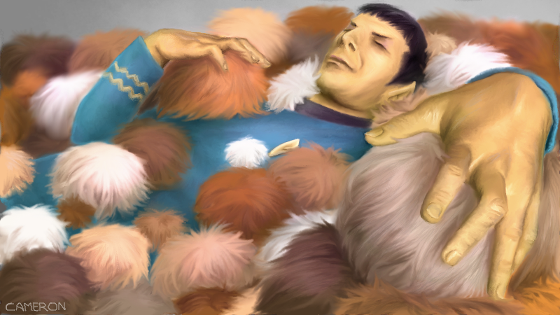 Spock-In-A-Pile-Of-Tribbles-442902271 by CameronKobe