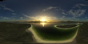 Tropical Sunset - Spherical HDRI Panorama Skybox