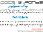 Pack 2 fonts by Waterloo