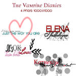 The Vampire Diaries Pack PNG'S