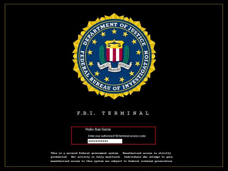 FBI Terminal By Pruizgarcia On DeviantArt