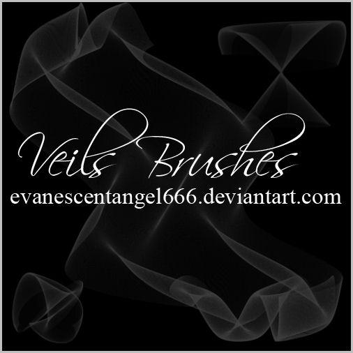 Veils Brushes by EvanescentAngel666