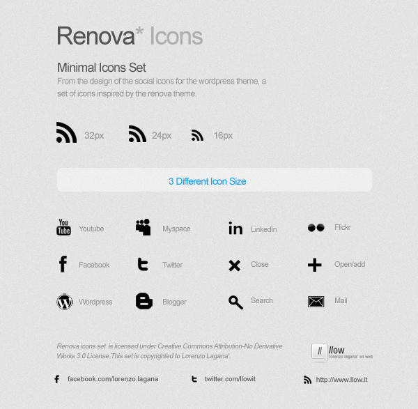 Renova Icons by FalconXp