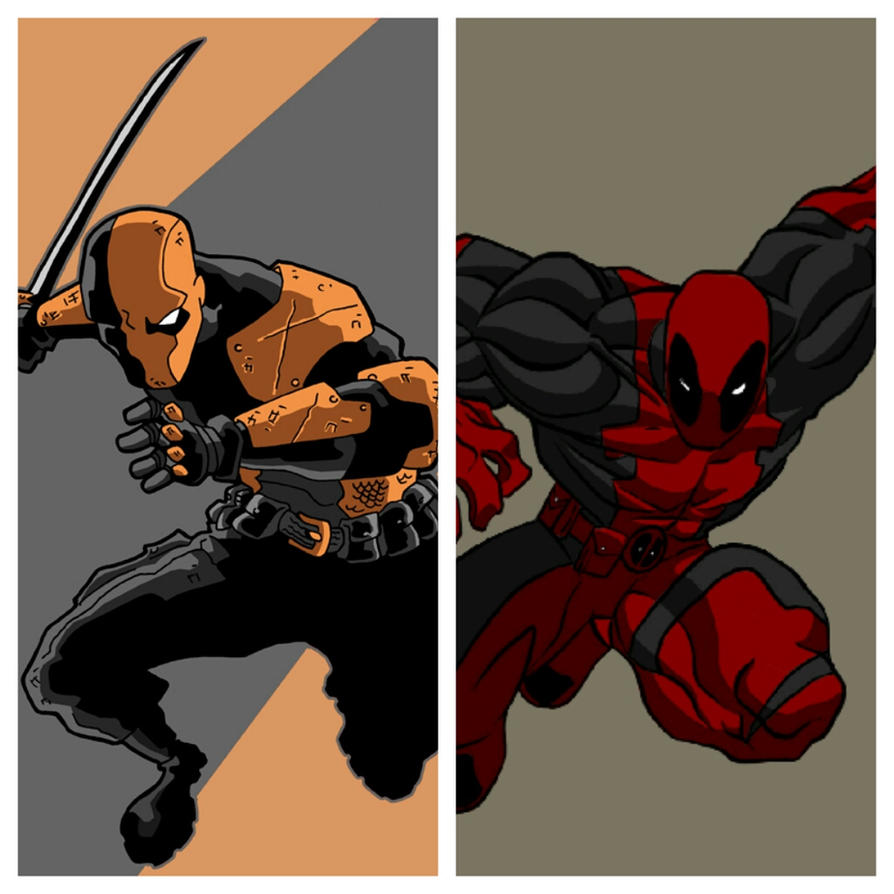 Deadpool Vs Red Hood By ZiggytheNinja On DeviantArt