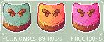 Fella Cakes - Free Icon Pack