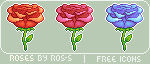 Roses - Free Icon Pack