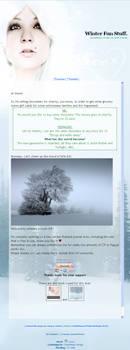 Wintery Whites Easy Install