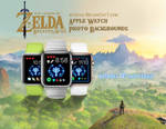 Breath of the Wild Apple Watch Backgrounds x10