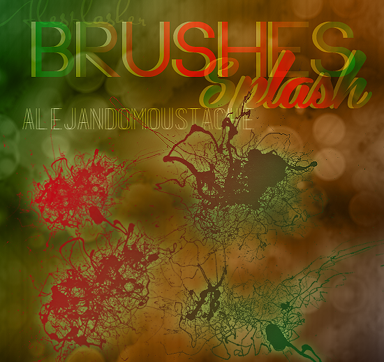 Brushes Splash {ABR}