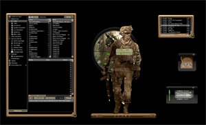 modern warfare 2 winamp skin by remib74