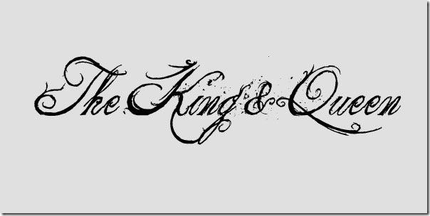 King And Queen Tattoo Font: The King And Queen Font By ILovePS On DeviantArt