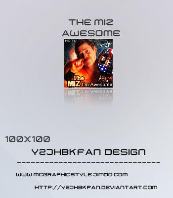The Miz Awesome by y2jhbkfan