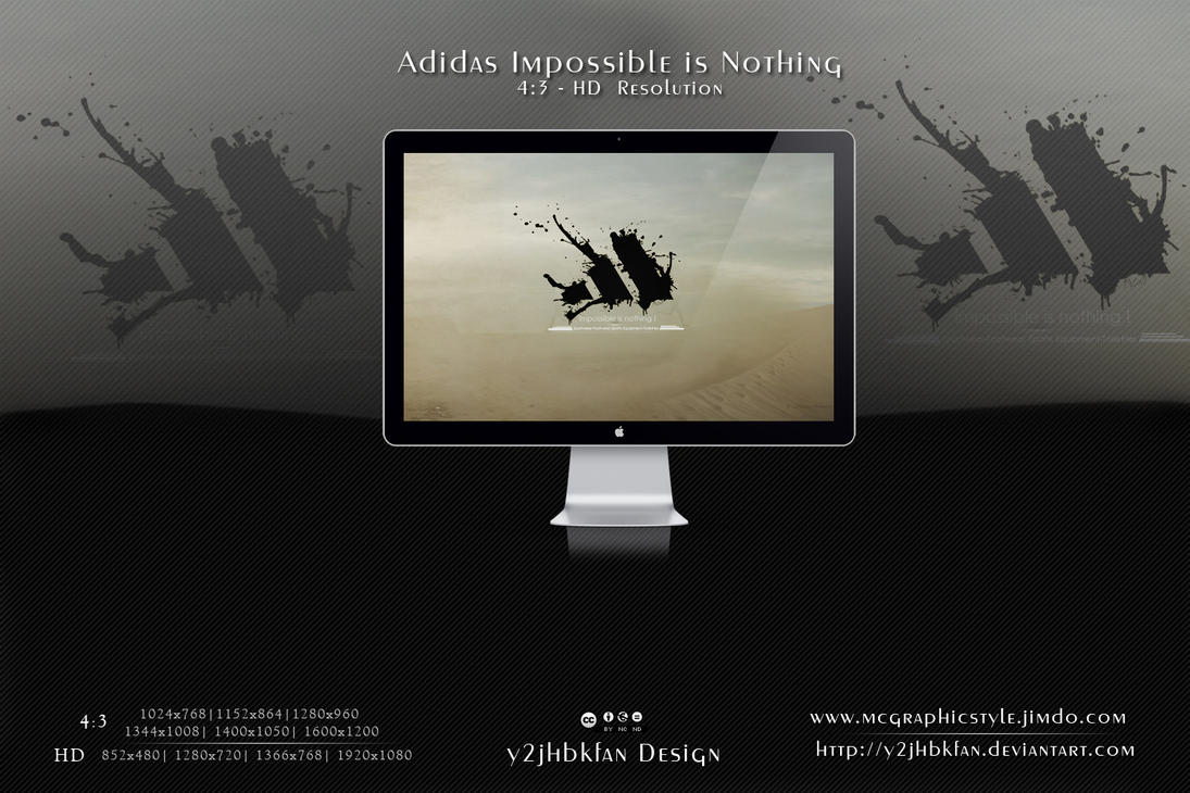 Adidas Impossible is nothing by y2jhbkfan on DeviantArt